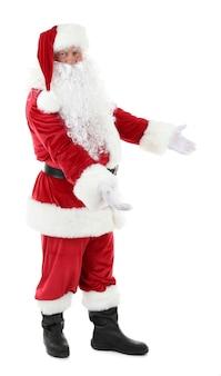 Weihnachtsmann isoliert