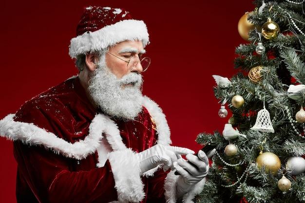 Weihnachtsmann telefonisch anrufen