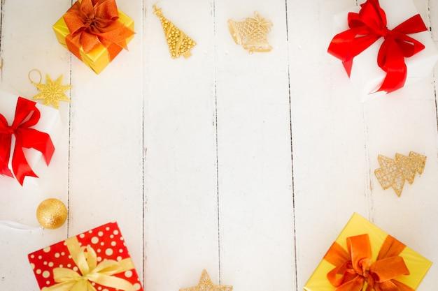 Weihnachtsschmuckrahmen. weihnachtsornament grenze