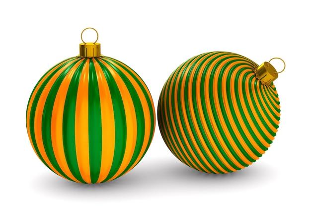 Weihnachtsspielzeug auf weiß