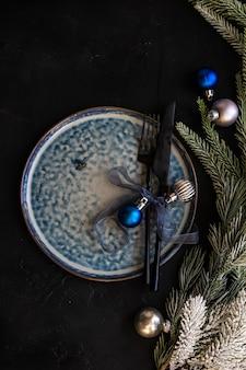 Weihnachtsszene konzept