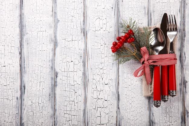 Weihnachtstabelleneinstellung