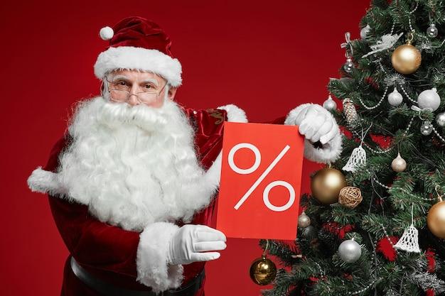 Weihnachtsverkauf im supermarkt