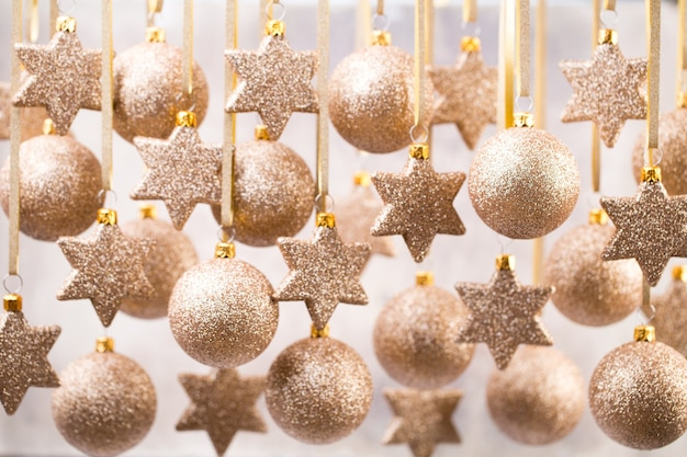Weihnachtsweihnachtsdekor und grußkarte