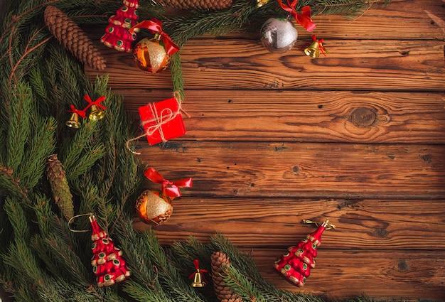 Weihnachtswohnungskonzept mit neujahr