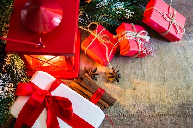 Weihnachtszeit mit geschenken
