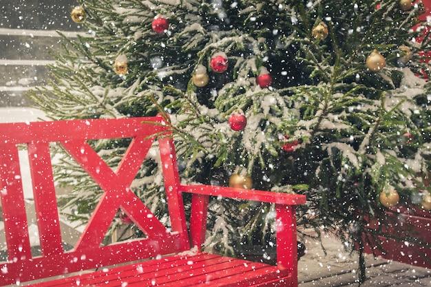 Weihnachtszeit- und feiertagsstadtdekoration