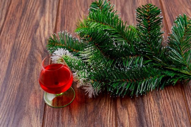 Weihnachtszeitglas whiskydekoration und -geschenke