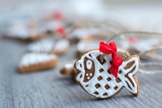Weihnachtszimt lebkuchen detail