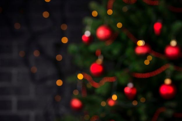 Weihnachtszusammensetzung mit baum