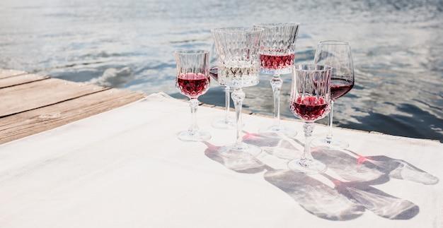 Wein mit aussicht.