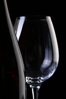 Wein und gläser