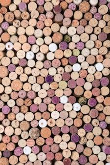 Weinkorken hintergrund