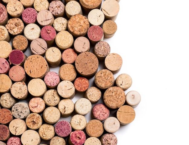 Weinkorken isoliert