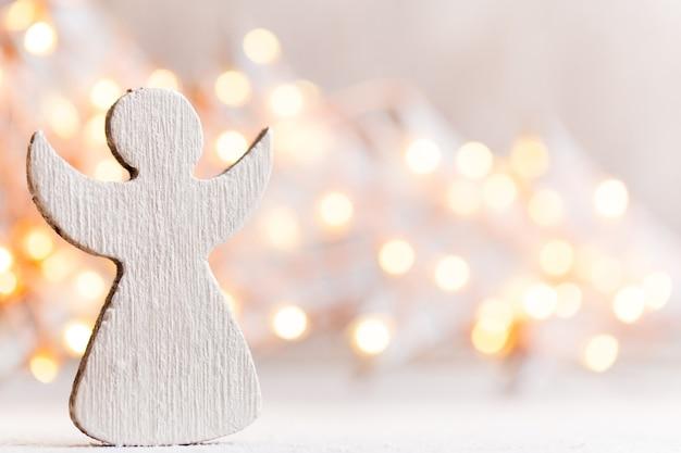 Weinleseweihnachtshintergrund mit weihnachtsdekoration