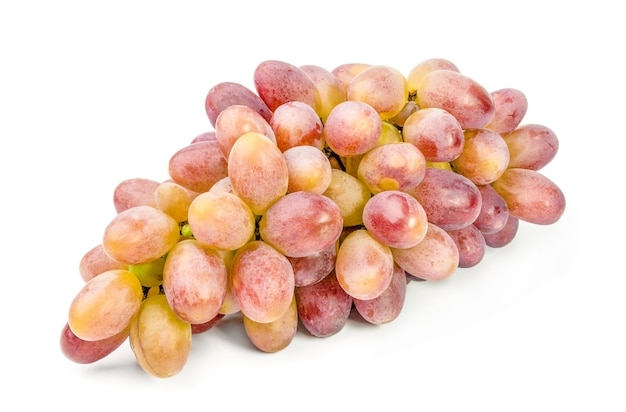 Weintraube auf weiß isoliert.