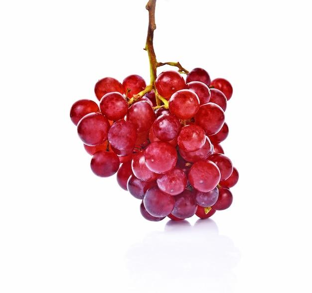 Weintraube auf weiß