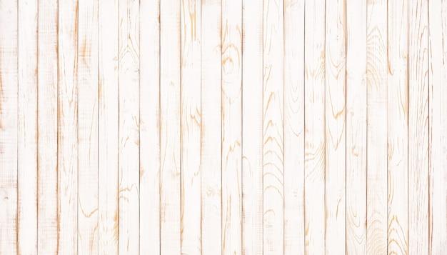 Weiß getünchter hölzerner kornhintergrund. weiße holzstruktur, ansicht von oben