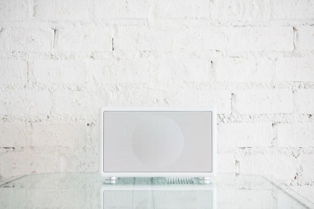 Weiß lautsprecher