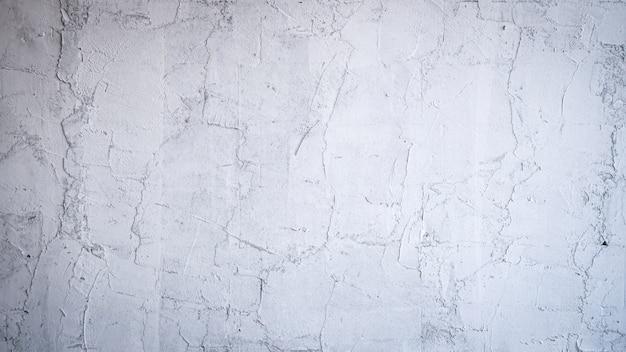 Weiß polierter putz
