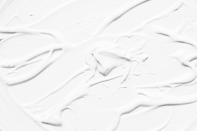 Weiß schmierende farbe