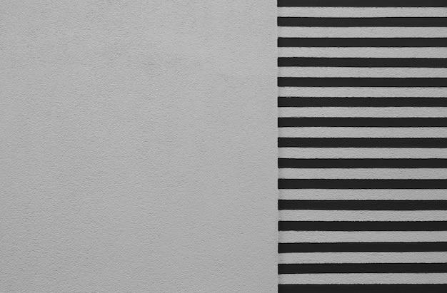 Weiß und schwarz gestreifte textur hintergrund stuckputz wand