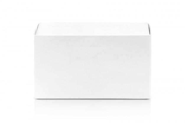 Weißbuchkasten für produktdesign.