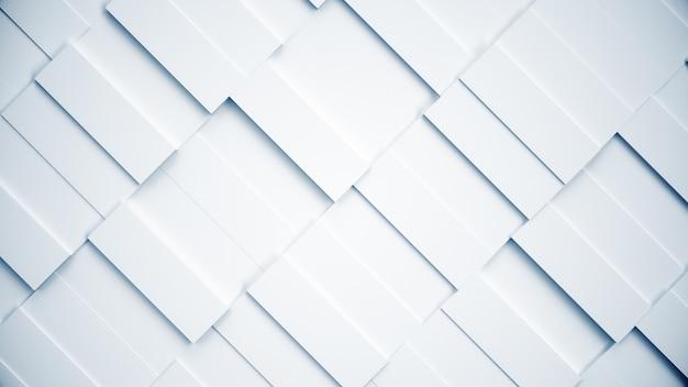 Weiße abstrakte struktur von rechtecken
