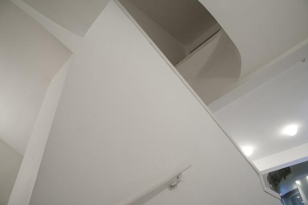 Weiße abstraktion