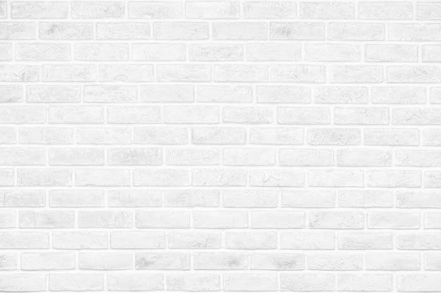 Weiße backsteinmauer beschaffenheits-design