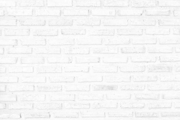 Weiße backsteinmauer beschaffenheitsauslegung. leerer weißer ziegelstein hintergrund für präsentationen