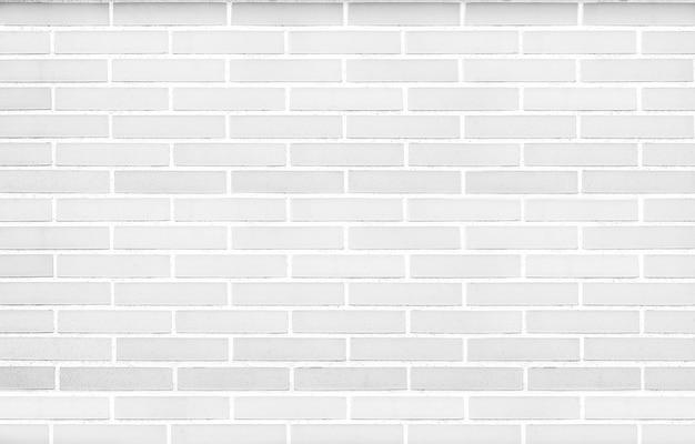 Weiße backsteinmauer hintergrund