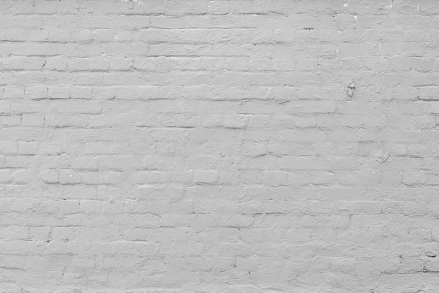 Weiße backsteinmauer. innenraum eines modernen lofts. hintergrund für die gestaltung