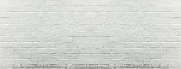 Weiße backsteinmauerbeschaffenheit für hintergrund.