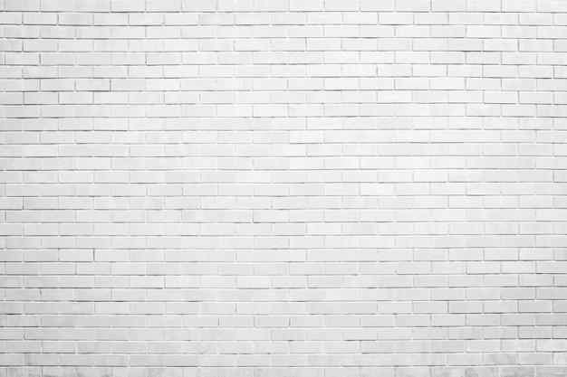 Weiße backsteinmauerbeschaffenheit und -hintergrund mit kopienraum