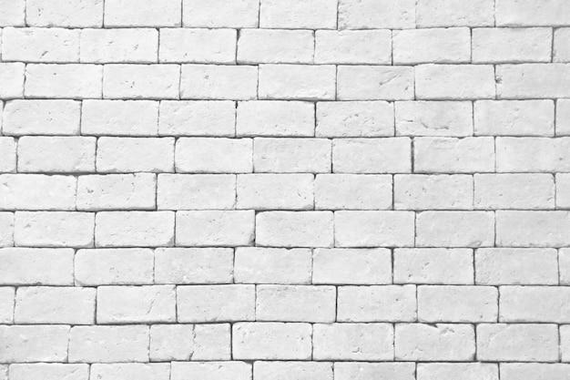 Weiße backsteinmauerbeschaffenheit