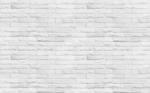 Weiße backsteinmauerhintergrundbeschaffenheit