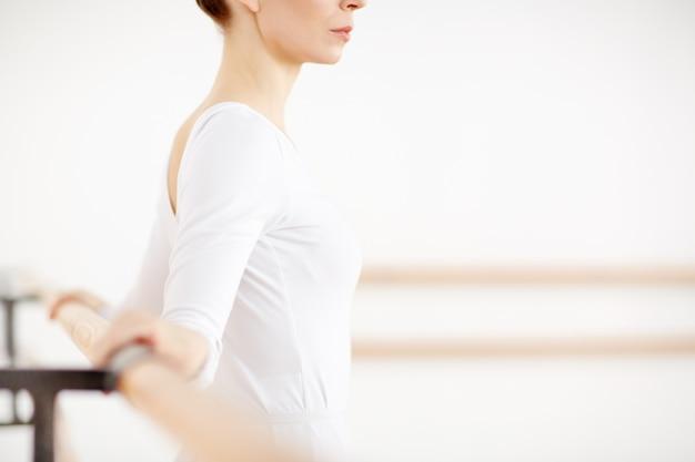 Weiße ballerina