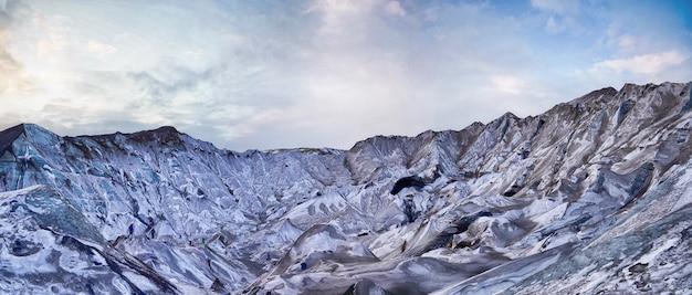 Weiße berge