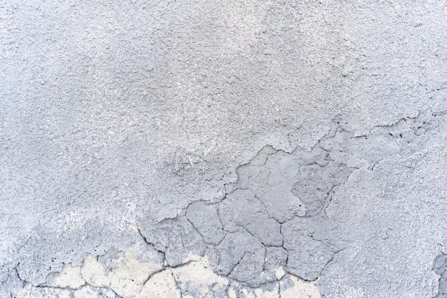 Weiße farbe der leeren betonwand für texturhintergrund