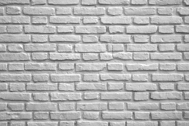 Weiße farbige backsteinmauer