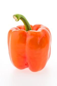Weiße frische paprika paprika gruppe
