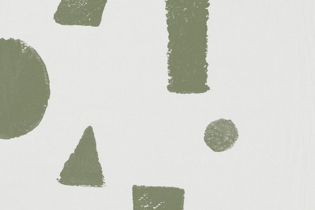 Weiße geometrische musterhintergrundblockdrucke