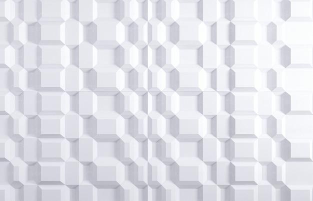 Weiße grafische wand 3d für hintergrund oder hintergrund oder tapete