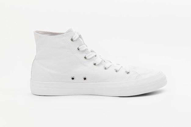 Weiße hohe sneakers unisex schuhe mode