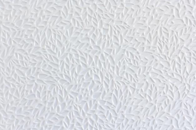 Weiße keramische ziegelsteinfliesenwand und -hintergrund