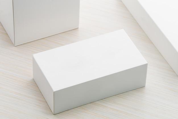 Weiße kiste