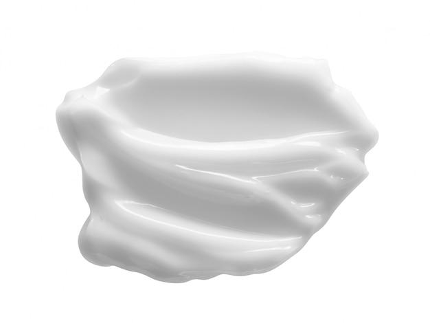 Weiße kosmetische creme