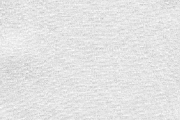 Weiße leinen leinwand stoff textur hintergrund