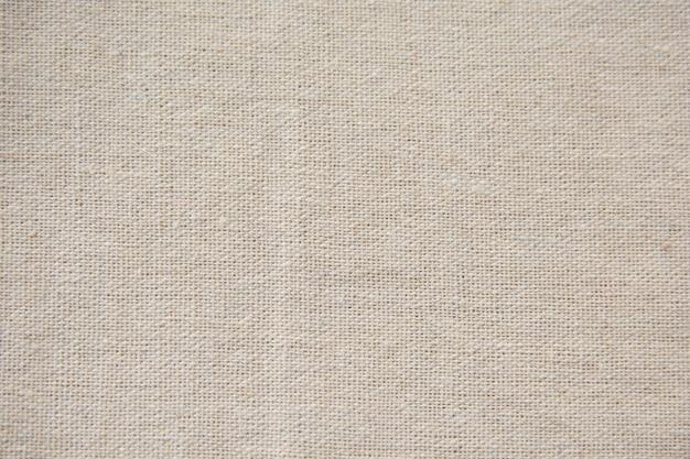 Weiße leinwand, sackleinenbeschaffenheitshintergrund